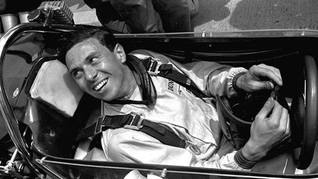 Jim Clark, considerado uno de pilotos más talentosos de la Formula 1.