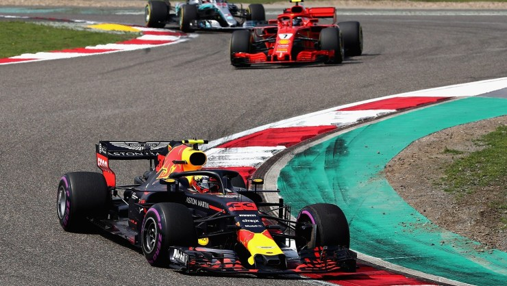 Red Bull en el Gran Premio de China 2018