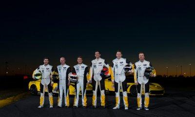 Los pilotos de Corvette para las 24 Horas de Le Mans