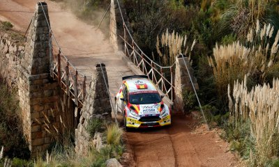 Solans compitiendo en WRC2