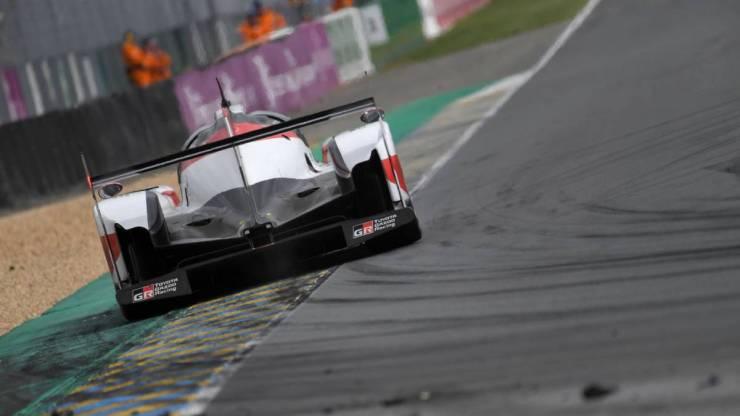 El TS050 en Le Mans 2018 // Fuente: AFP