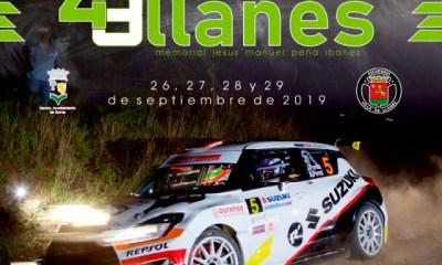 Cartel del 43º Rallye de Llanes