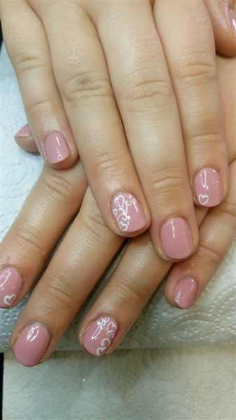 nail salon shellac