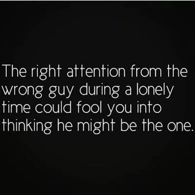 Signs you are dating the wrong guy