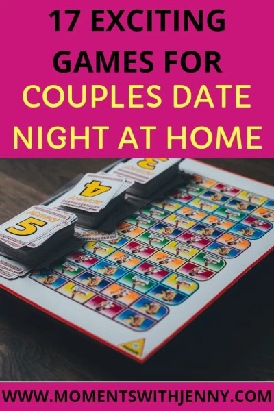 Games for couples date night at home