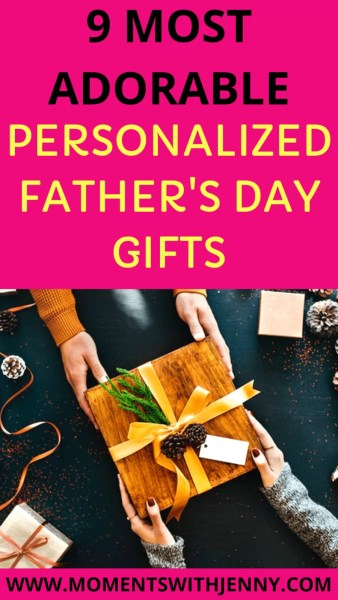 Most adorable personalized Father's Day gifts