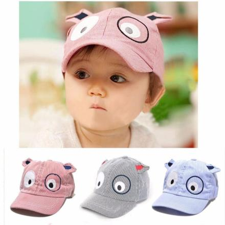 Baby Dog Baseball Cap with ears