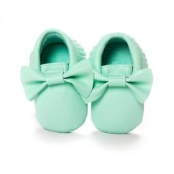 Baby Moccasins with Bow