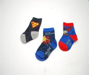Baby Superhero Socks - 6 Pairs