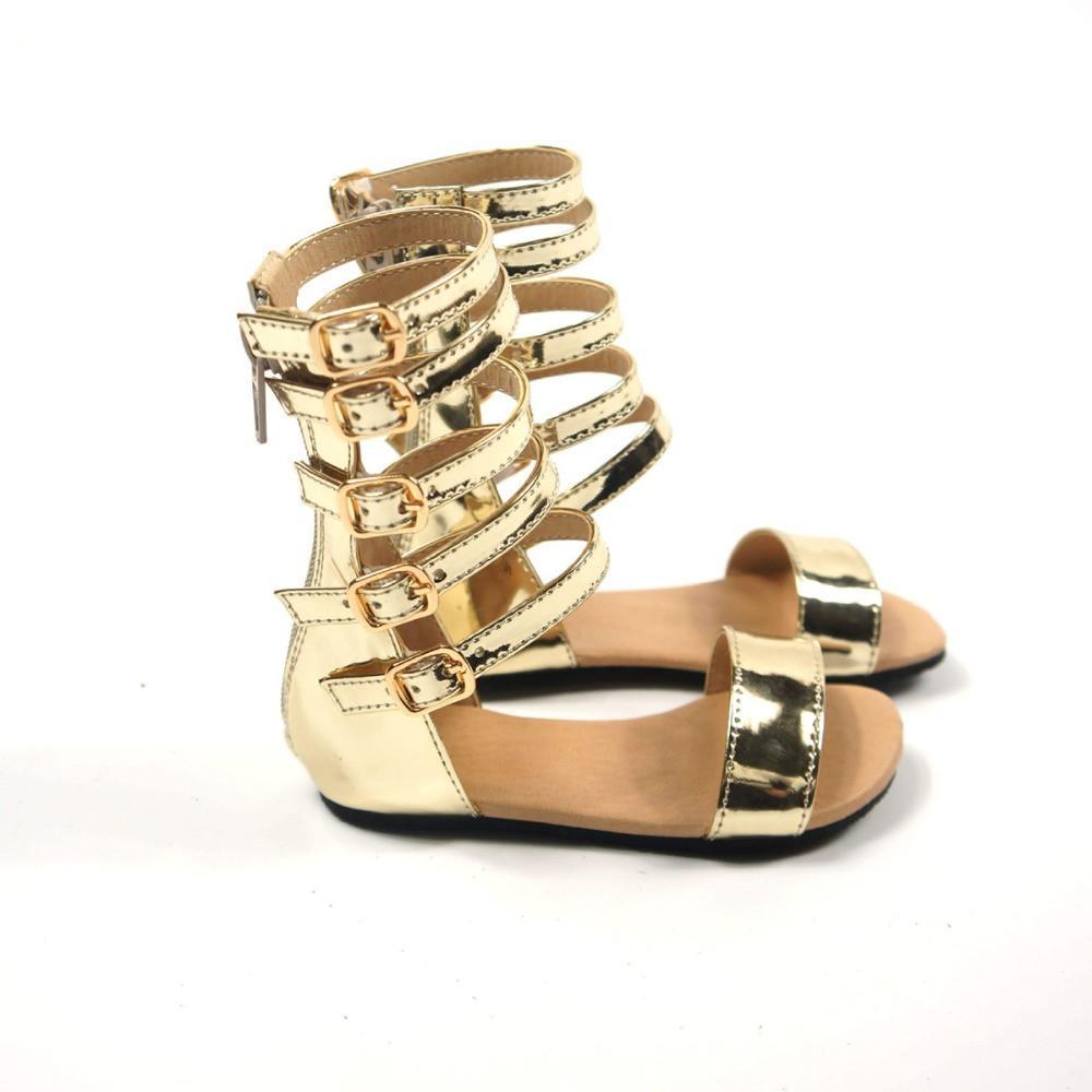 Elegant Baby Girl Roman Sandals