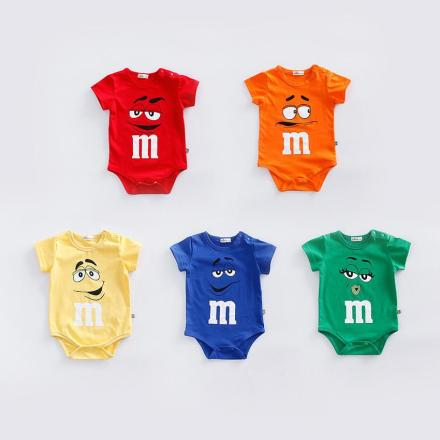 M&M's Baby Rompers