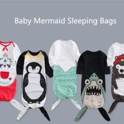 Mermaid Baby Sleeping Bags