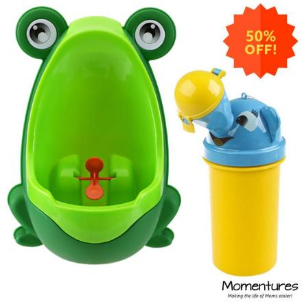 Potty Training Bundle - Baby Urinal and Travel Potty - SPECIAL DEAL