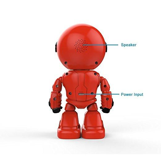 Red Robot Baby Monitor Backside