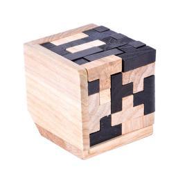 3D Wooden Tetris Puzzle Game