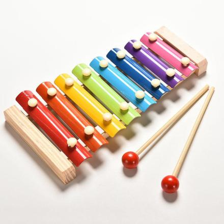 Wooden Xylophone For Children - Music Education