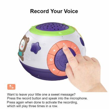 Starry Baby Night Light Voice Recording