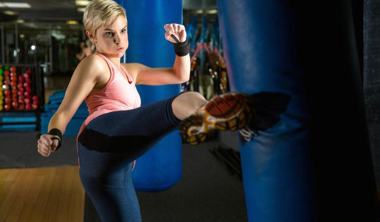 Kick Your Fitness Up A Notch With These Kickboxing Moves By Dpeverybodyfit Momeo Magazine Fo