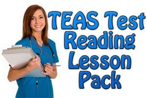 TEAS Test Reading Study Pack