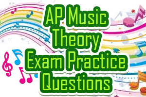 Image Result For Ap Music Theory Practice Multiple Choice Questions