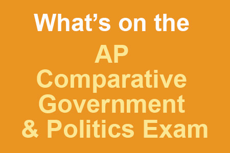 What's on the AP Comparative Government & Politics Exam [Infographic]