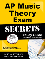 AP Music Theory Secrets Study Guide
