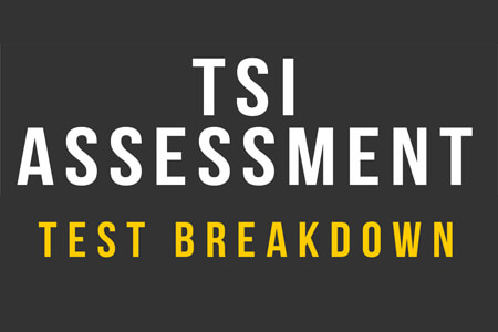 TSI Assessment Test Breakdown