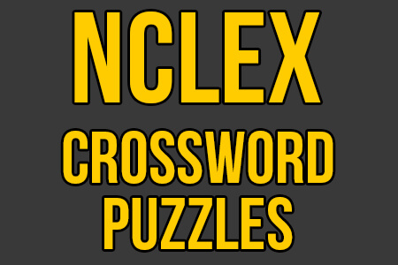 NCLEX Review Crossword Puzzles Practice PDF
