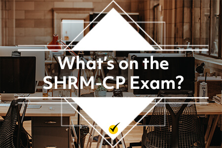 What's on the SHRM-CP Exam? [Infographic]