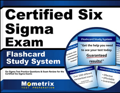 Certified Six Sigma Exam Flashcards Study System
