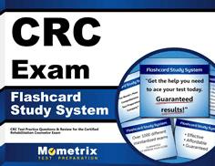 CRC Exam Flashcards Study System