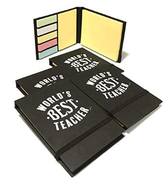 Teacher Appreciation Gifts - Teacher Gifts Sticky Notes Booklet (Pack of 5) - Teacher Gifts for Women & Gifts for Teachers Appreciation
