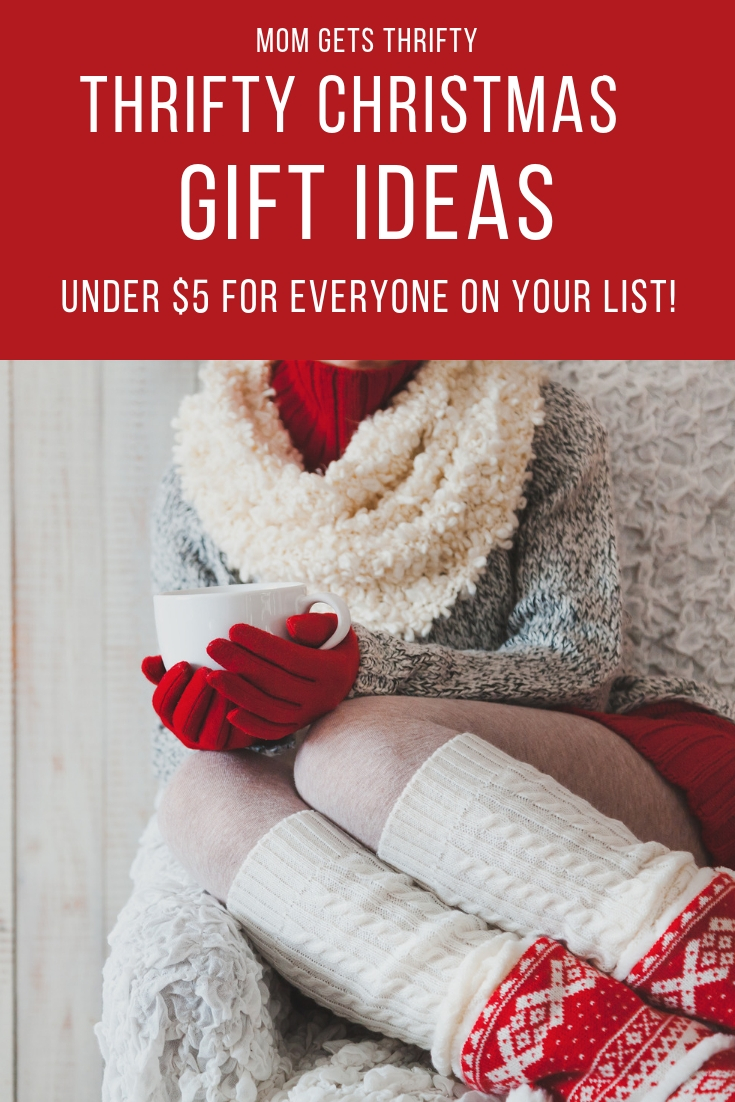 Thrifty Christmas Gifts under $5 - Mom Gets Thrifty
