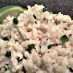 Cilantro-Lime Brown Rice (à la Chipotle)