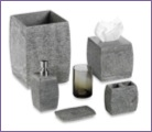 slate grey bath accessories