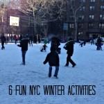 Favorite Outdoor Fun NYC Winter Activities