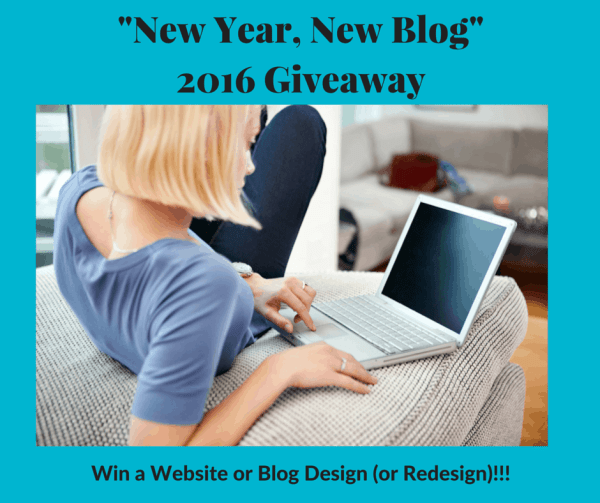 New Year, New Blog - Win a Website or Blog Design (or Redesign)