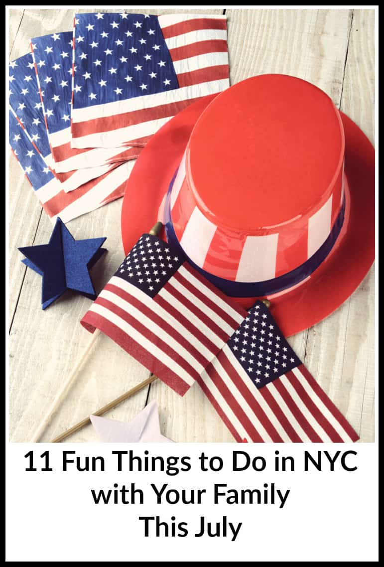 11 Fun Things to Do in NYC with Your Family This July - from the Thunderbird American Indian Mid-Summer PowWow to Broadway in Bryant Park.