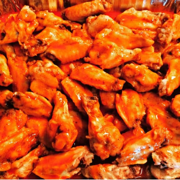 easy baked buffalo wings recipe