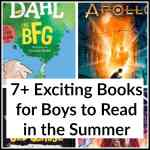 7+ Exciting Books for Boys to Read in the Summer