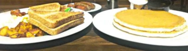 Guy Fieri's Mt. Pocono Kitchen Breakfast