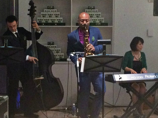 Live jazz music at the Whitney