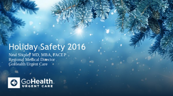 Holiday Safety Tips Presentation - Click here to download