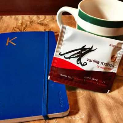 Morning Routine: Tea and Journals