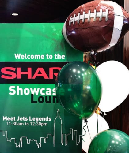 Sharp Showcase Lounge