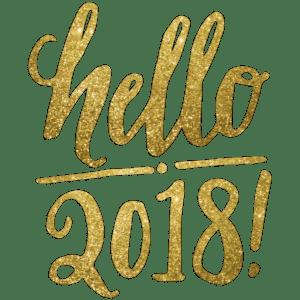 "4 Ways That I'm Saying, ""Hello 2018!"""