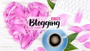blogging fastrack