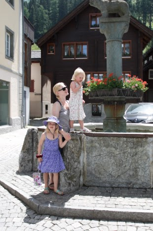 Escaping the Swiss heatwave…in Andermatt
