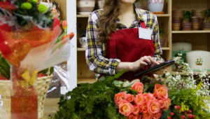 Online flower business
