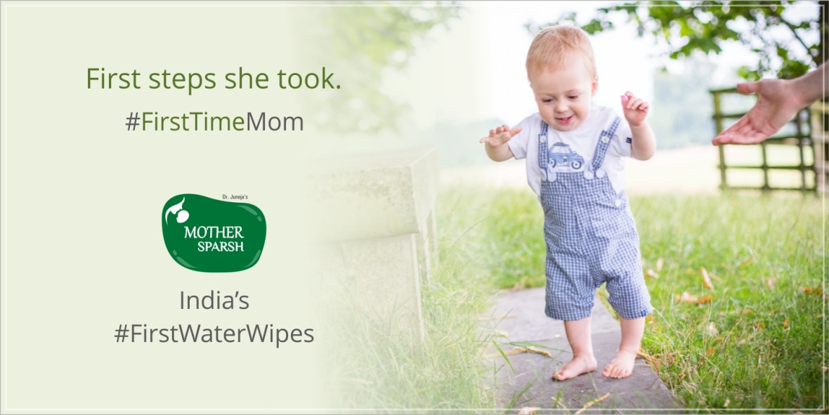 Celebrate motherhood with the #Firstwaterwipes